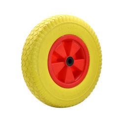 Chariot de la main Mousse de PU pneu roue de PU