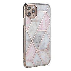 2021 Novo PC TPU Fashion Electroplated IMD Célula em mármore Contracapa capa para telemóvel para iPhone 11 PRO Max com protetor de tela