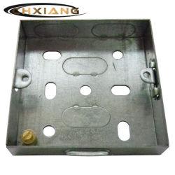 [بس] 1 مجموعة [16مّ] كهربائيّة مفتاح تجويف ملتقى معدن صندوق