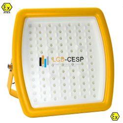 Lumière LED lumière antidéflagrant 40W/50W 080W/100W/150 W avec Atex Certificats UL de classe 1 division 2 Projecteur antidéflagrant Supports de fixation du tuyau NPT3/4