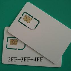 إمداد المصنع مباشرة بـ 128 كيلو بايت فارغة قابلة للبرمجة عبر تقنية LTE WCDMA GSM CDMA بطاقة EVDO SIM