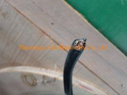 كبل دائري PVC مع كبل من الفولاذ يُستخدم كقلادة