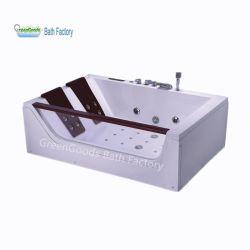 Vasche di bagno acriliche utilizzate dell'interno della bolla della STAZIONE TERMALE portatile di sauna del Ce