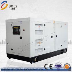 200kw/250kVA 산업 사용 4 폴란드는 380/400V 1500rpm 자유로운 건전지를 가진 판매를 위해 놓인 고요한 발전기를 방수 처리한다