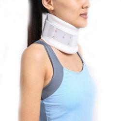 Medical Tipo II (plástico) cuello transpirable ajustable collar cervical duro Soporte
