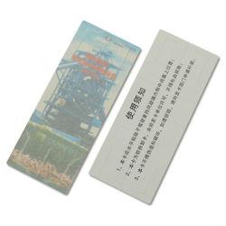 긴 읽힌 거리 방수 공백 RFID 바람막이 유리 꼬리표 레이블