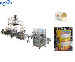 Высокая скорость автоматической консервирование белок порошкового молока шнека заполнения машины производственной линии по упаковке