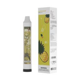 100 High Quality Disposable Vape Pen 1000puffs 5% NIC المتوهج طقم بادئ Vape E من القرود السجائر