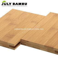 Mit hoher Schreibdichte Bambusmaterial bilden 15mm Bambusbodenbelag karbonisierten horizontalen hölzernen Bambusfußboden für Innen