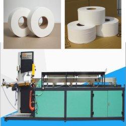Affûter la lame de bande de tissu du rouleau de papier toilette Machine de découpe de scie à ruban