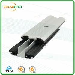 Panel solar de cristal sin cerco abrazadera de película delgada de módulo