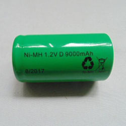 O EWT Alta capacidade de células cilíndricas 9000mAh NiMH D/F Bateria NiMH