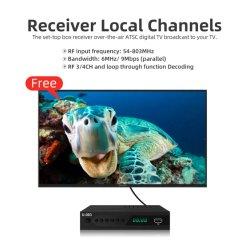 جهاز فك تشفير تلفزيون ATSC أمريكا الشمالية عالي الوضوح بالكامل