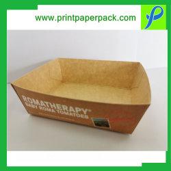 صنع وفقا لطلب الزّبون حارّ عمليّة بيع وجبة خفيفة صندوق [فست فوود] يعبّئ صندوق صينيّة صندوق طعام صينيّة سندويش لحم صندوق