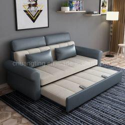 أثاث منزل الفندق أثاث منزل ذو موضة سرير أريكة فوتون مع كرسي سحب خارجا أريكة