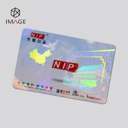ID 카드 사용자 지정 홀로그램 오버레이 리본(보안 보호를 위한