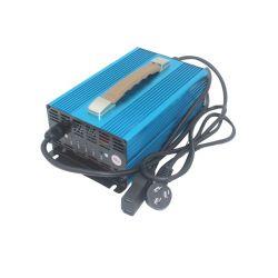 Caricabatteria da auto da 48 V/caricabatteria al litio per batteria agli ioni di litio Caricabatterie LiFePO4 Pack