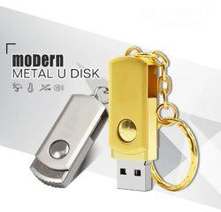 De Opslag USB 3.0 de Stok 16GB 32GB 8GB 4GB 64GB Pendrive van het Metaal van de Aandrijving van de Flits van de wartel USB van het Geheugen USB van de Aandrijving 128GB van de Pen