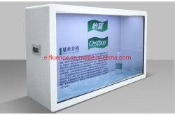 2019 E-Fluence 32'' el equipo de la Tienda Caja de la pantalla LCD transparente Multimedia