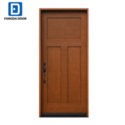 3 окрашены Sharker Fangda панели из стекловолокна наружной входной двери