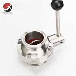 DIN JIS Amse، مصنع من الفولاذ المقاوم للصدأ SS304/SS316L، يدوي، هوائي صمام الملف اللولبي الخاص برش التواء الفراشة والفكرة والأغشية التي تعمل مع التفريل والتحكم في العروة