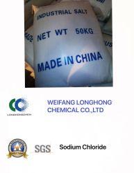В промышленном уровне хлорида натрия / Nacl / Промышленные соли в руде плавки CAS № 7647-14-5