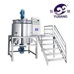 Aço inoxidável detergentes líquidos industriais copo misturador de xampu fazendo a máquina