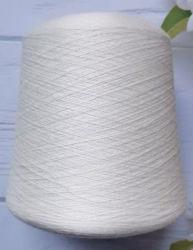 Los textiles ne30s peinado cardado blanco crudo teje hilados de algodón