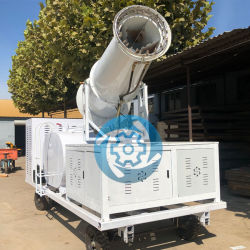 Árbol frutal decente de cañones de agua nebulizada pulverizador pulverizador de la agricultura