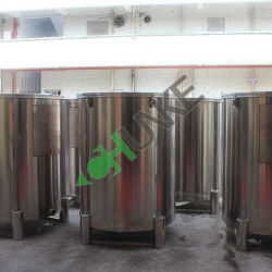 Vente à chaud en acier inoxydable de l'eau du réservoir de stockage d'huile du réservoir de stockage