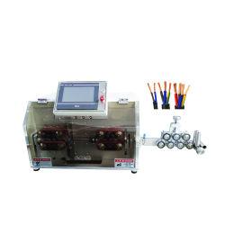 전자동 3핀 전원 코드 케이블 절단 스트리핑 기계