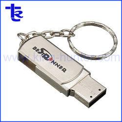 키체인 메탈 포모 USB 플래시 드라이브 도매 스위블 펜 드라이브