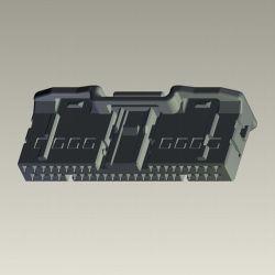 Te 1554289-1 Assemblage de bouchon de voiture à 40 broches du connecteur du faisceau de fil automatique
