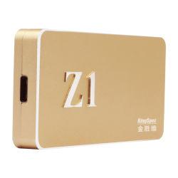 Kingspec 512 GB de armazenamento de dados externo Z1 SSD portátil de disco rígido SSD