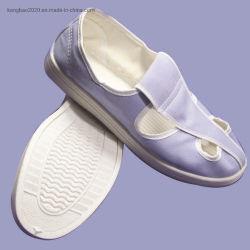 ESD Schoenen die in Stofvrije Cleanroom dragen