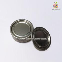 Le fer blanc couvercle 209 (63mm) bas fin pour la nourriture peut l'emballage