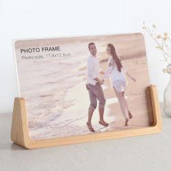 Venda por grosso de decoração de casamento moderno moldura fotográfica de imagem personalizadas