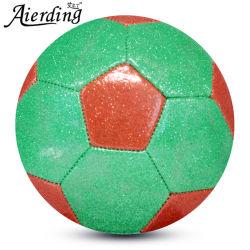 Finition brillante de gros bon marché Golden Soccerball