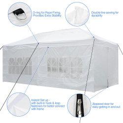 Полог палатки пользовательских печатных алюминиевая рама всплывающее душ 3X6 3x4,5 полог палатки на крыше торговых палаток