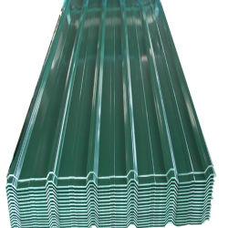 PE цвет краски из гофрированного картона с покрытием кровли стальной лист