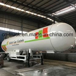 중국 아주 새로운 56cbm 28mt 30t 가스 탱크 트레일러 LPG 트레일러 탱크 LPG 탱크