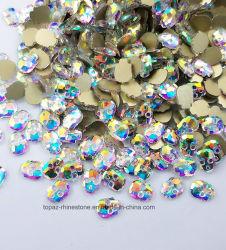 Nieuwe Bergkristallen van de Diamant van de Spijker van Flatback van de Schedel van de Kleur van de Manier van het Ontwerp Diverse