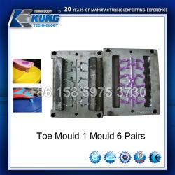Muffa di plastica della punta del PVC della muffa del pistone del processo di soffiatura in forma dell'aria del PVC dello stampaggio ad iniezione di precisione