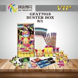 Boîte de dialogue Gfat7013-busted Liuyang Vente directe en usine un assortiment de consommateur Bélanger Fireworks Craquelins