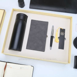 Notebook Caneta Marcador canecas de vácuo Escritório Conjunto de oferta de presentes de Natal