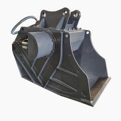 Accesorios de Excavadora Cucharas de Trituración para Demolición y Reciclaje Trituradora Que Coincide con la Excavadora de 20 Toneladas