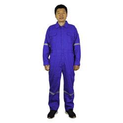防火効力のあるつなぎ服の炎-抑制衣類