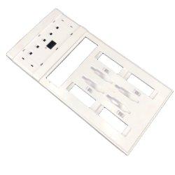 Moulage par Injection plastique de pièces moulées en plastique du carter de l'interrupteur