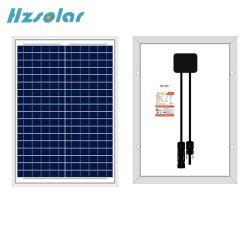 Starke Aluminiumrahmen-Sonnenenergie 10W zum Sonnenkollektor 150W