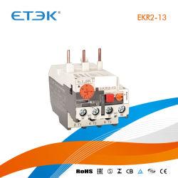 Ekr2-13 0.1~25un pequeño amperios relé de sobrecarga térmica coincide con el contactor AC utilizados en el motor de arranque DOL